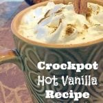 Crockpot Hot Vanilla Recipe