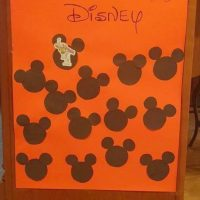 Easy Disney Countdown Calendar
