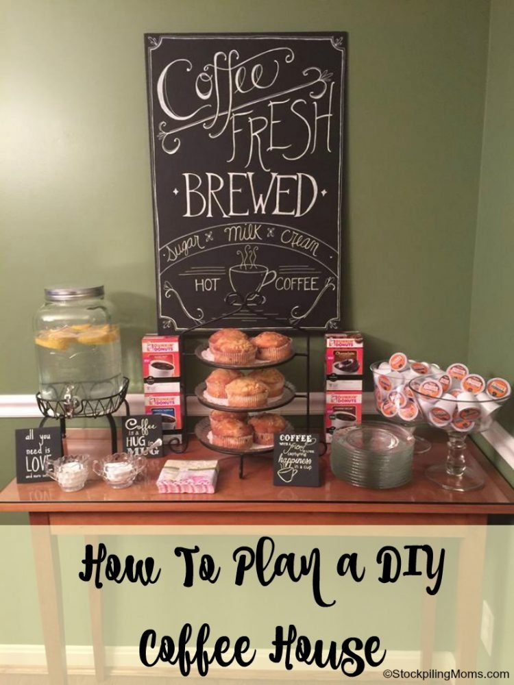 How To Plan a DIY Coffee House