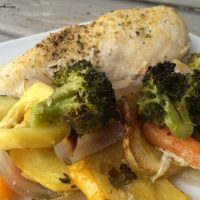Healthy One Dish Chicken Bake