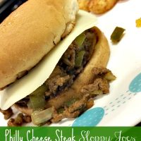Philly Cheese Steak Sloppy Joes2