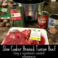 Slow Cooker Braised Tuscan Beef