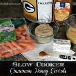 Slow Cooker Cinnamon Honey Carrots