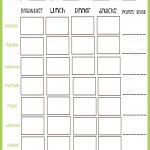 Print this awesome Weight Watchers Points Tracker to stay on track!