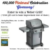Gas Grill Giveaway – $500 Value! – CLOSED