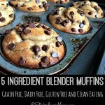 5 Ingredient Blender Muffins