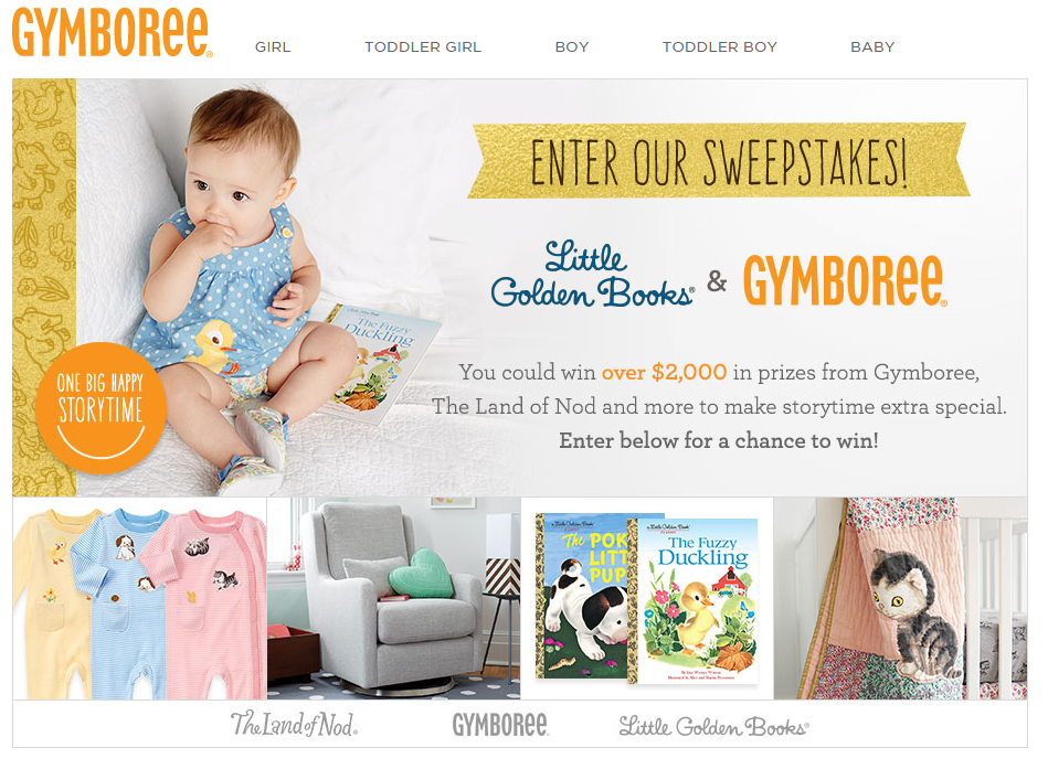 Gymboree Introduces New Little Golden Books Newborn Collection