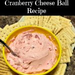 Cranberry Cheese Ball Recipe