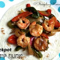 Crockpot Shrimp Fajitas
