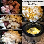 Crockpot Smothered Beef Tips