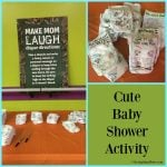 Cute Baby Shower Activity