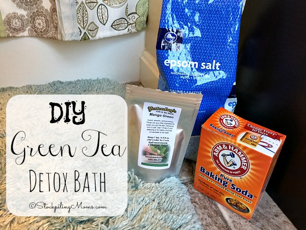 DIY Green Tea Detox Bath that will help you relax and rejuvenate at the same time!