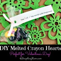DIY Melted Crayon Hearts