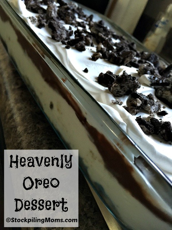 Heavenly Oreo Dessert recipe is so good! Kids and adults love this mouthwatering dessert.