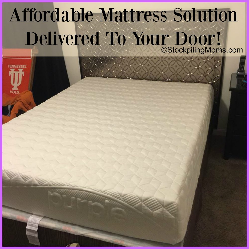 Purple Mattress - An Affordable Mattress Solution Delivered To Your Door