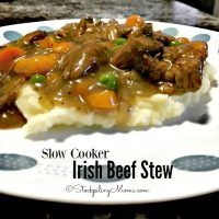 Slow Cooker Irish Beef Stew