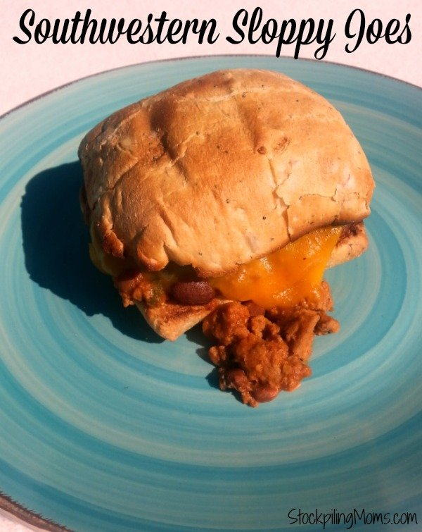 Check out these great Southwestern Sloppy Joes from the hot new cookbook Prep Ahead Meals From Scratch!