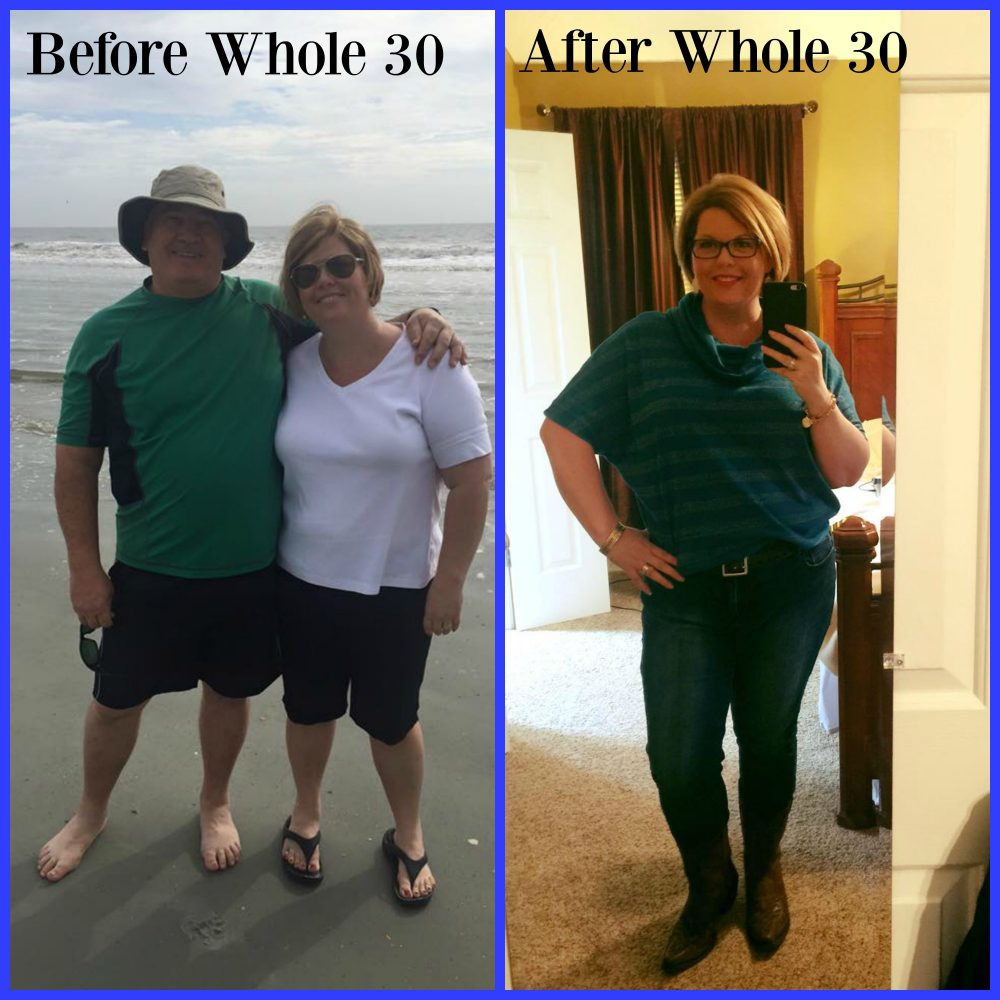 whole 30 before and after