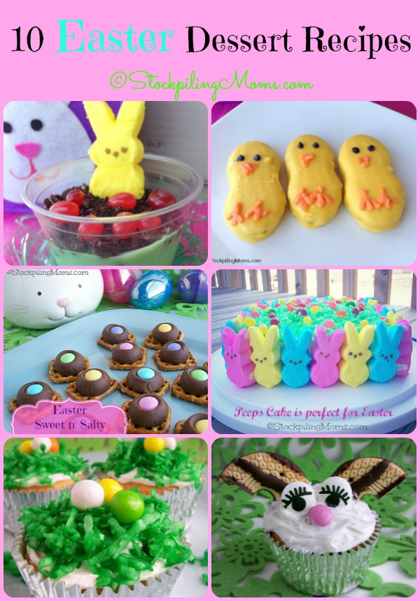 10 Easter Dessert Recipes that are fun, delicious and everyone will love!