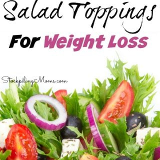 Don't miss these best salad toppings for weight loss! Great tips on what to eat to lose weight!