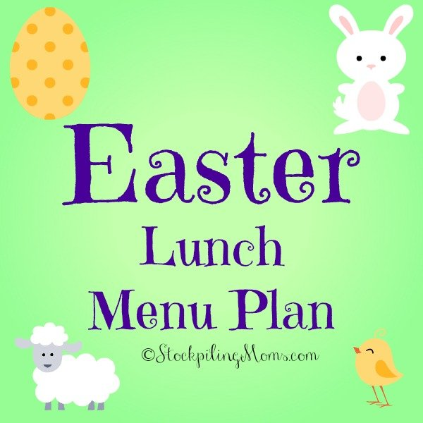 Here is my Easter Lunch Menu Plan that I will be serving my family this year! Be sure to check out all the delicious recipes.
