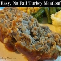 Easy, No Fail Turkey Meatloaf2