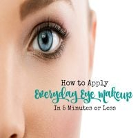 How to Apply Your Everyday Eye Make Up in Five Minutes or Less