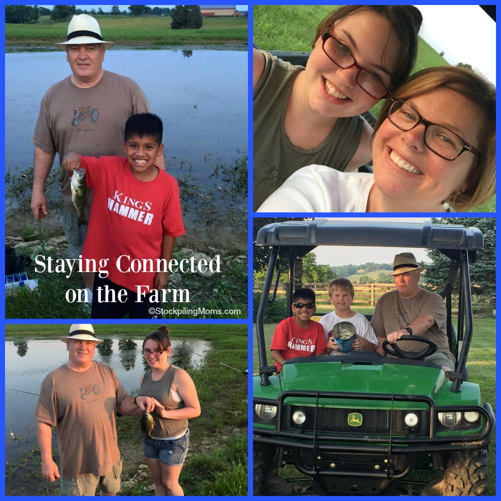 Staying Connected on the Farm