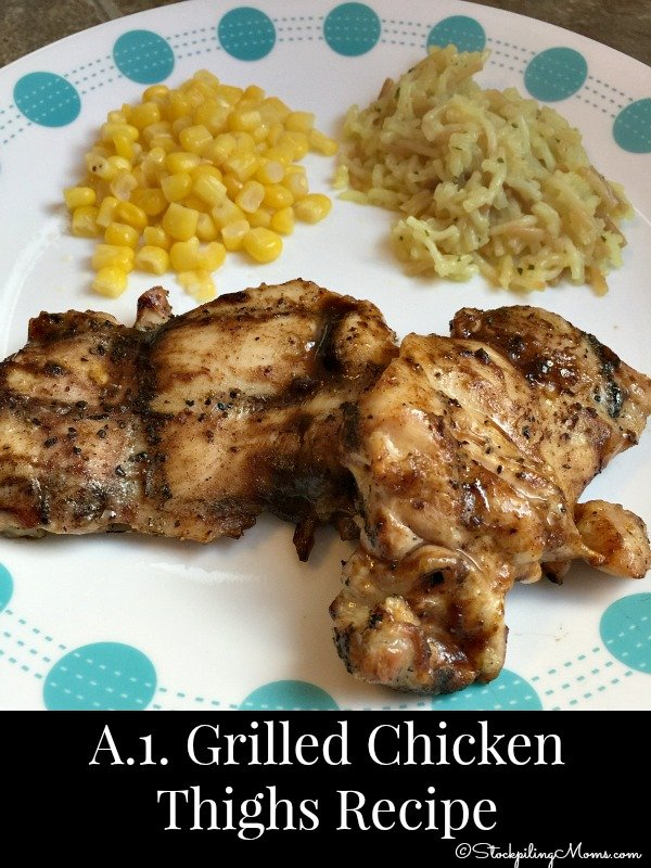 A-1 Grilled Chicken Thighs Recipe3