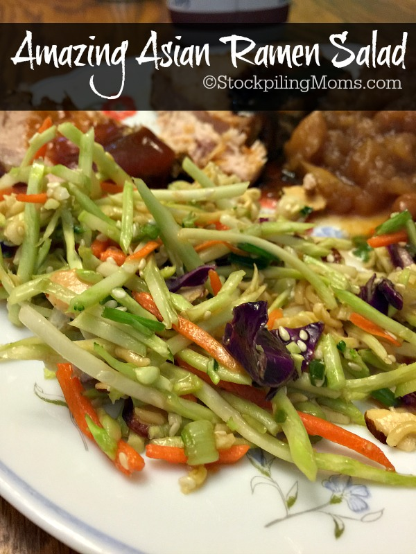 Amazing Asian Ramen Salad recipe is easy to make and taste delicious!