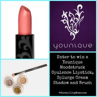 Enter to win a Younique Moodstruck Opulence Lipstick, Splurge Cream Shadow and Brush – CLOSED