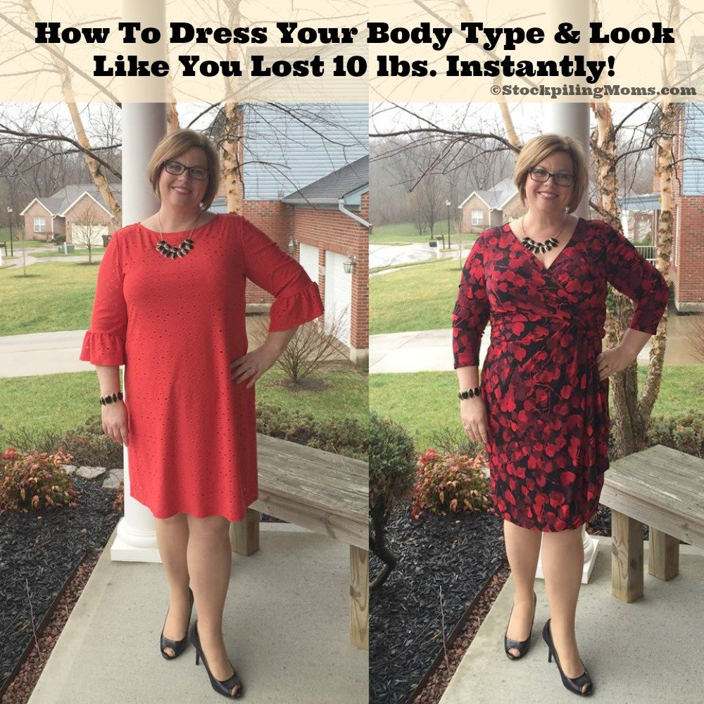 How To Dress Your Body Type & Look Like You Lost 10 lbs Instantly
