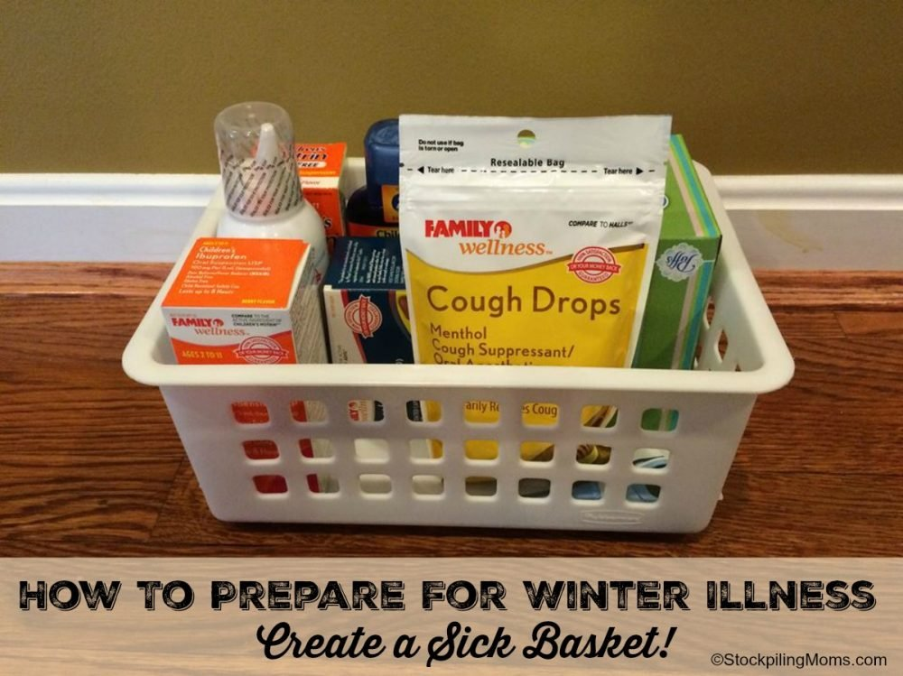 How To Prepare For Winter Illness - Create a Sick Basket!