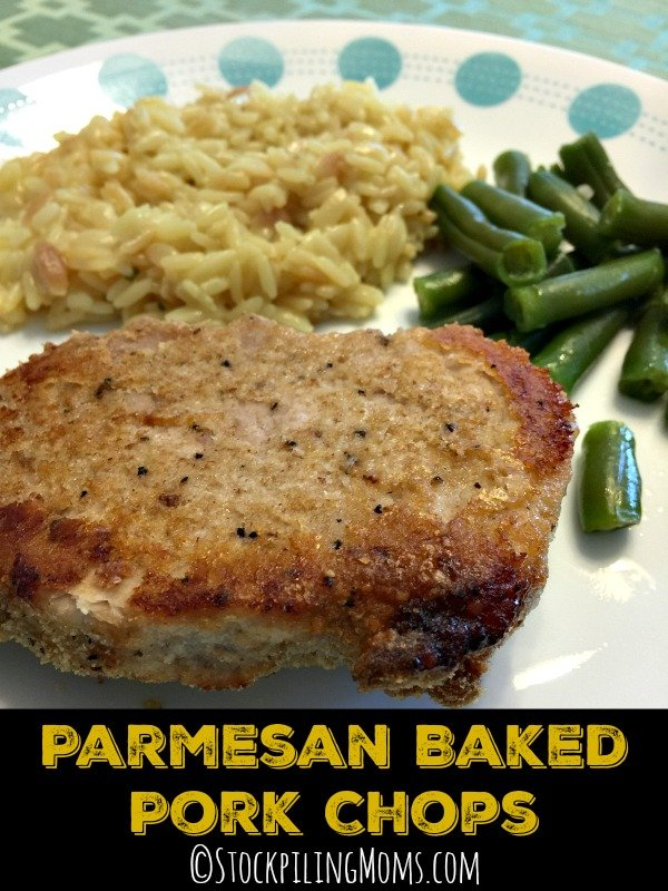 Parmesan Baked Pork Chops recipe has only 6 ingredients and tastes so ...