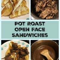 Pot Roast Open Face Sandwiches2