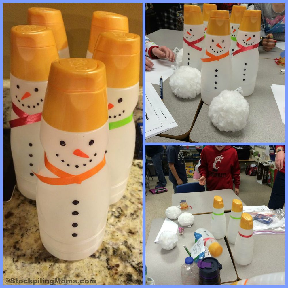 How To Make a Snowmen Bowling Game