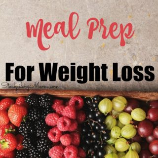Tips For Meal Prep For Weight Loss