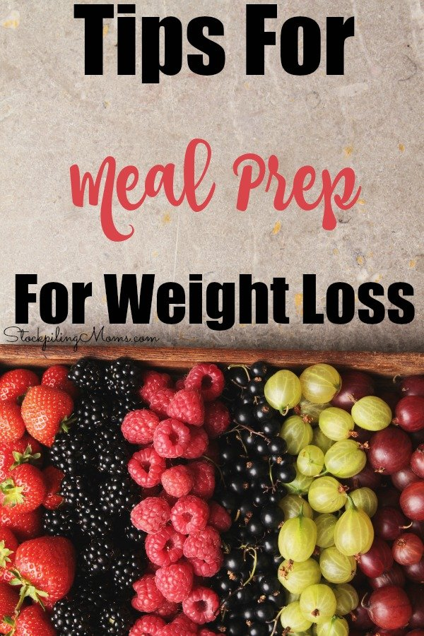 Check out our top Tips For Meal Prep For Weight Loss! These will make it so much easier for you to manage easy meals and snacks that fit into your diet plans!