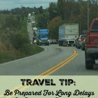 Travel Tip - Be Prepared For Long Delays By Packing a Travel Kit