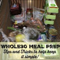 Whole 30 Prep - Tips and Tricks to help keep it simple