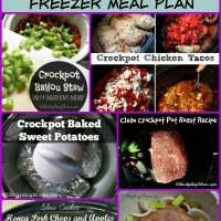 10 Healthy Slow Cooker Freezer Meal Plan
