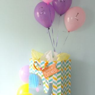 Balloon Time Baby Shower Gender Reveal