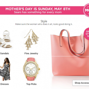 Mother's Day Wish List from Sears