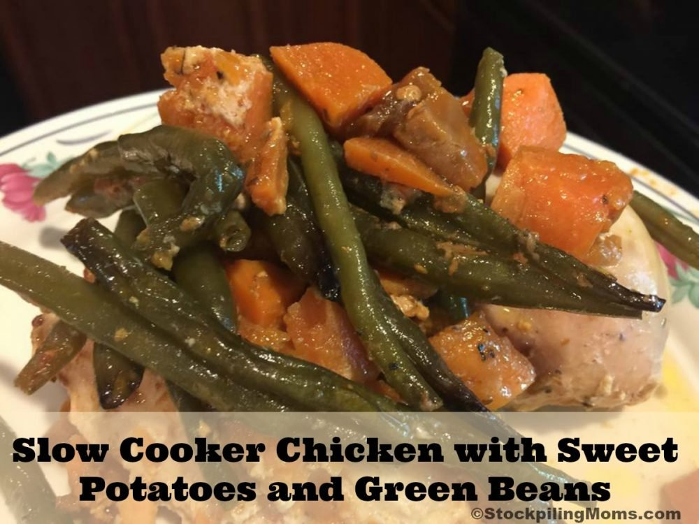 Chicken with Sweet Potatoes and Green Beans Recipe