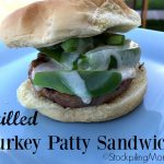 Grilled Turkey Patty Sandwich