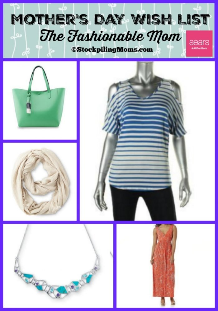 Mothers Day Wish List - The Fashionable Mom