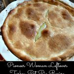 Pioneer Woman Leftover Turkey Pot Pie Recipe
