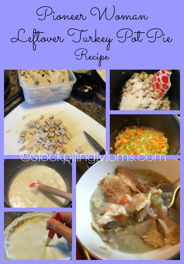 Pioneer Woman Leftover Turkey Pot Pie Recipe is delicious and easy to make!
