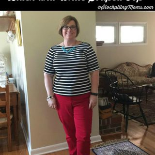 Wardrobe Must Have – Black and White Striped Top