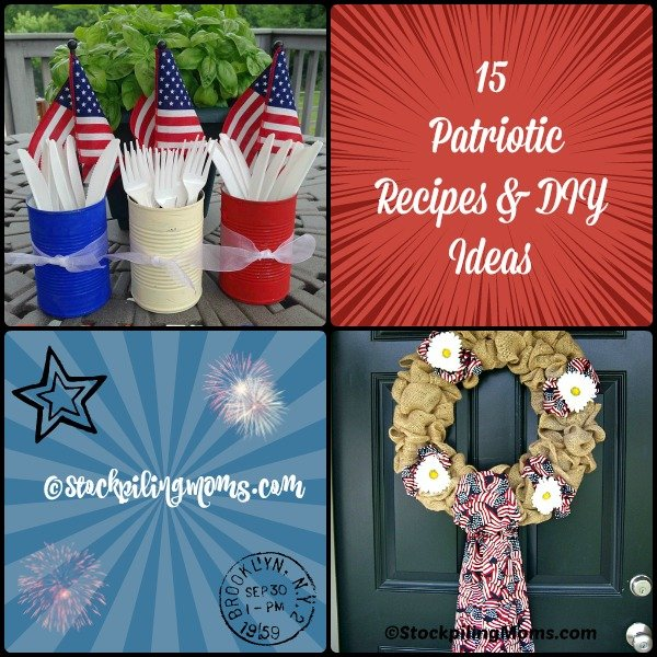15 Patriotic Recipes & DIY Ideas